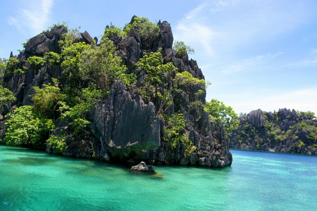 Limestone cliffs, Coron