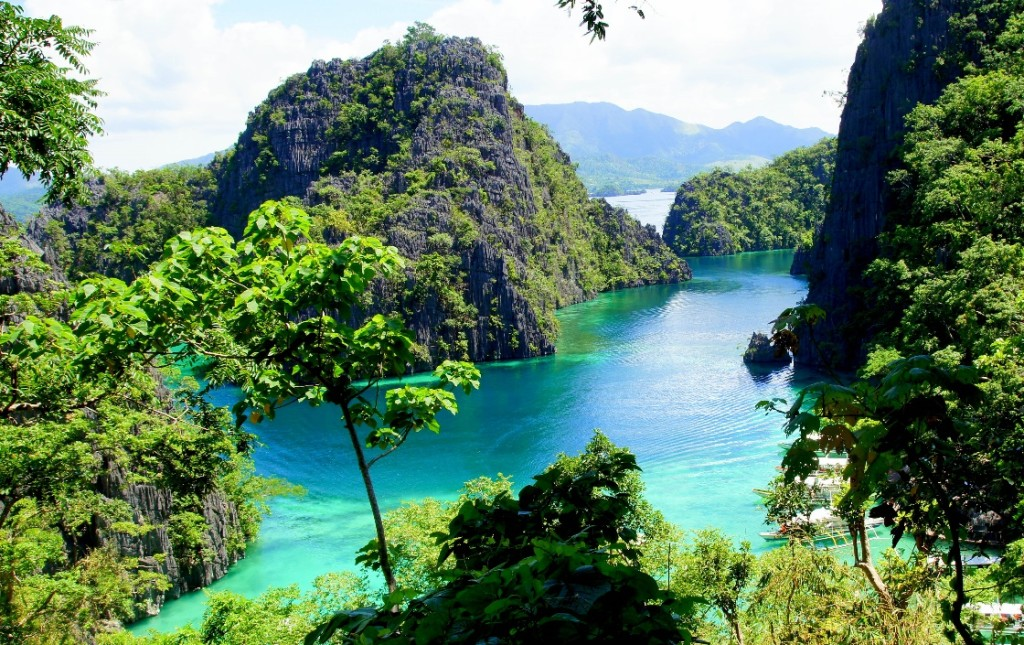 View from Kayangan Lake, Coron