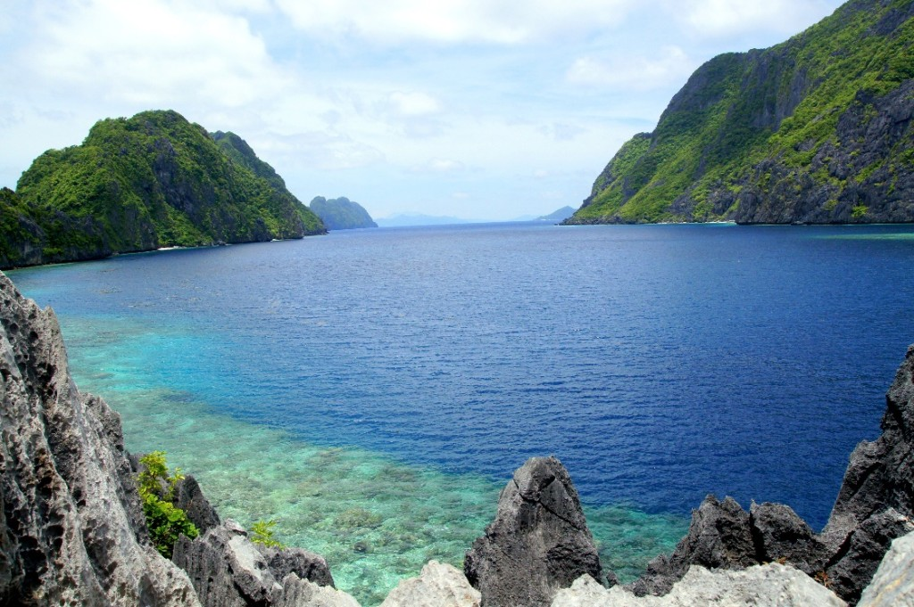 View from Matinloc Shrine, El Nido