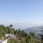 View of Himalayas , on way to Baijnath