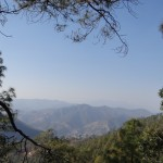 View from Binsar Wildlife Sanctuary