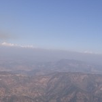 Panoramic View of the Himalayas from the Zero Point